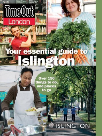 Time Out's guide to Islington - Islington Council