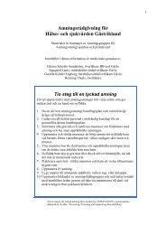 Amningsrådgivning för Hälso- och sjukvården Gästrikland