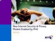 New Internet Security & Privacy Models Enabled by IPv6