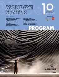 Download PDF - Mondavi Center