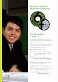 THE SIXTH FORM @ WESTMINSTER ACADEMY PROSPECTUS - Page 4