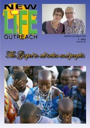 New Life Outreach nr 2 - 2008 - Zoé Kirken