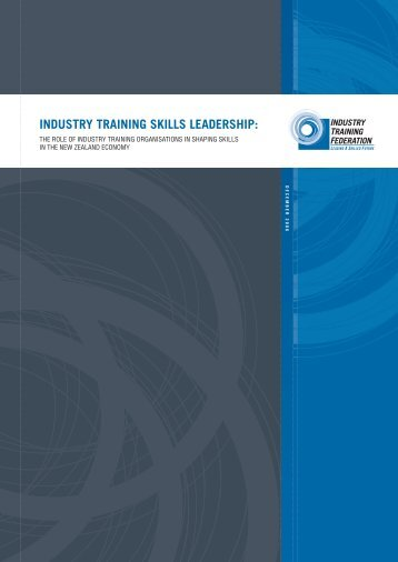 Industry Skills Leadership - Industry Training Federation