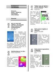Actuels n° 28 - Espace Sciences et Techniques