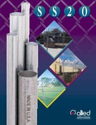 SS20 Technical Specifications - Anchor Fence Wholesalers