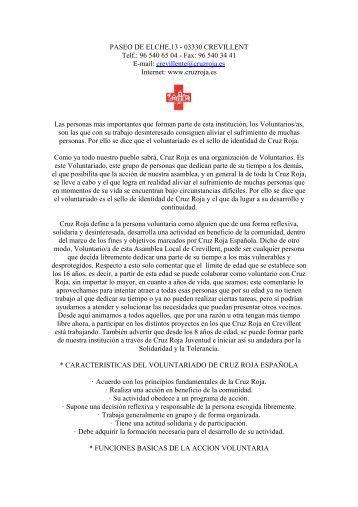 Cruz Roja Crevillent