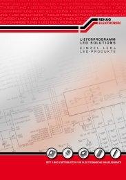 Lieferprogramm LED (PDF) - rehag elektronik gmbh