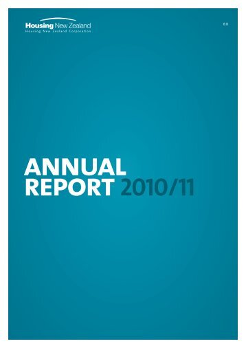 Annual Report 2010-11 - Housing New Zealand