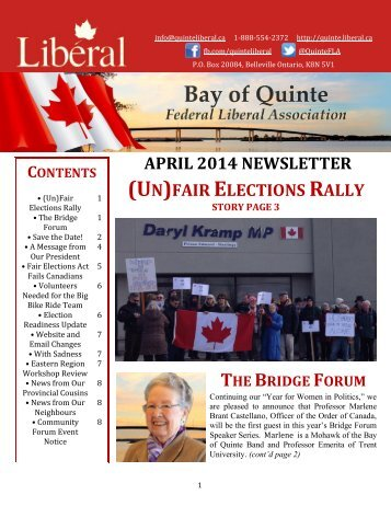 April-2014-Newsletter1