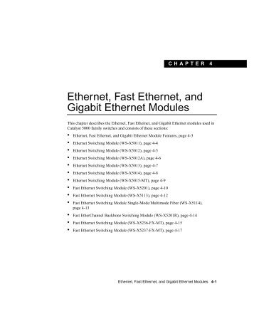 Ethernet Switching Module - Compucanjes
