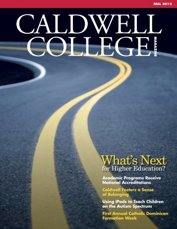 What's Next - Caldwell College