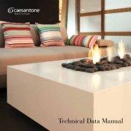 Technical Data Manual - Caesarstone