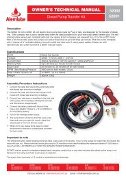 Download Technical Manual 52000 - Alemlube