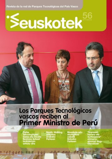 Euskotek Nº 56 - Red de Parques Tecnológicos de Euskadi