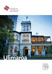 Ulimaroa - Australian and New Zealand College of Anaesthetists