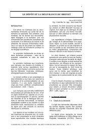 Le dépôt et la délivrance du brevet - ABD-BVD