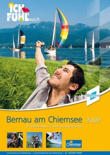 Gastgeberverzeichnis Bernau am Chiemsee | 2009 - Toubiz