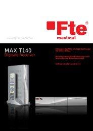 MAX T140 Produktflyer - FTE Maximal