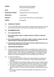 Annual Road Traffic Collision and Casualty Report PDF 561 KB