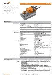 Technisches Datenblatt SM230A-S