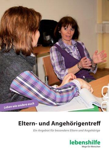Eltern- und Angehörigentreff - Lebenshilfe Graz und Umgebung ...