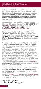 Programm Oktober-Dezember 2013 - Tassilo-Theater und ... - Seite 2