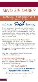 Programm Oktober-Dezember 2013 - Tassilo-Theater und ... - Seite 6