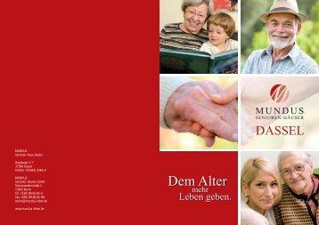 Broschüre - Mundus