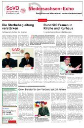 Das 2. Kulturfest in Bad Sachsa am 7.-9. Mai 2004 - Sozialverband ...