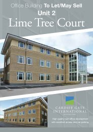 Download Lime Tree Court brochure - Cardiff Gate International ...