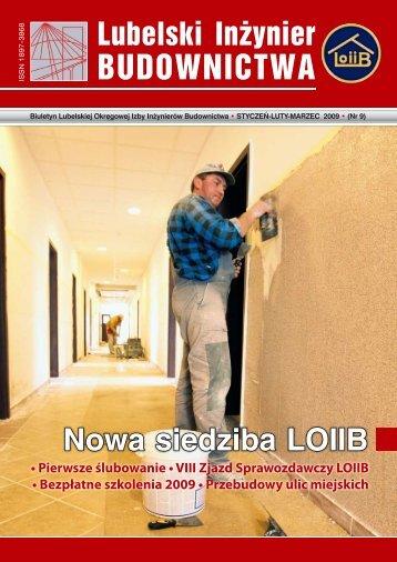Nr 9. Pobierz w formacie PDF - Lubelska Okręgowa Izba Inżynierów ...