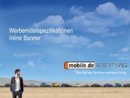 Inline Banner - mobile.de Advertising