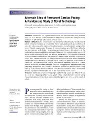 Alternate Sites of Permanent Cardiac Pacing - The Hellenic Journal ...