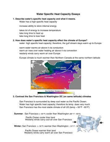 calorimetry essay Coffee cup and bomb calorimetry measurement of heat flow & enthalpy change.