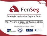 Resíduos Sólidos e o Seguro de Responsabilidade Civil ... - ASEC