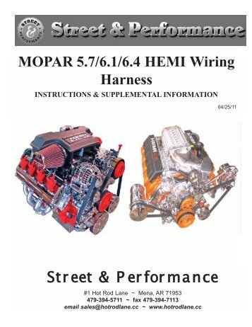 6 1 hemi wiring harness wiring diagram for you all u2022 rh onlinetuner co