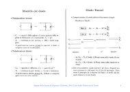 Appunti delle lezioni di Dispositivi Elettronici, Prof. Carlo Naldi ...