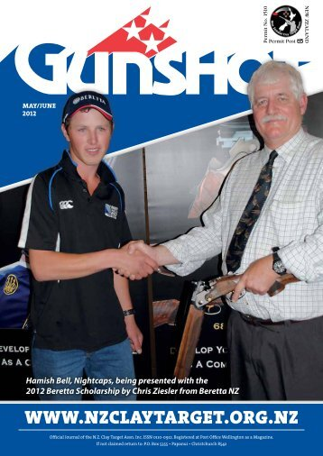 May-June 2012 - New Zealand Clay Target Association