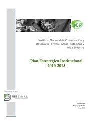 Plan Estratégico Institucional 2010-2015 - ICF