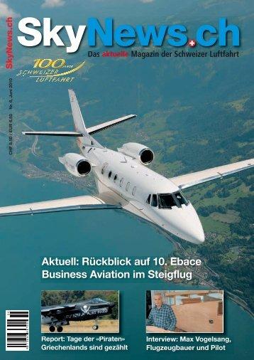 Das aktuelle Magazin der Schweizer Luftfahrt - SkyNews.ch