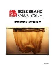 PDF Kabuki System Manual - Rose Brand