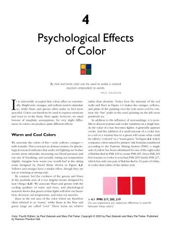 the psychological and physiciological effects of