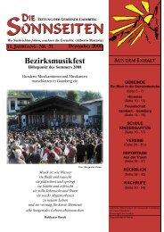 Die Sonnseiten 31 - Gemeinde Thurn