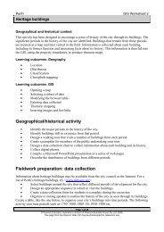 GIS Worksheet 2 - Pearson Australia Media Resources