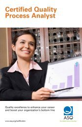 Certified Quality Process Analyst