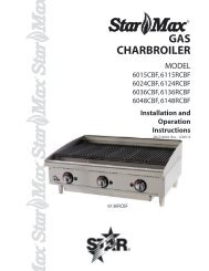 Star-Max Charbroiler 2M-Z15002