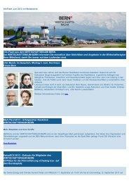 InfoFlash Juni 2013 - Wirtschaftsraum Bern