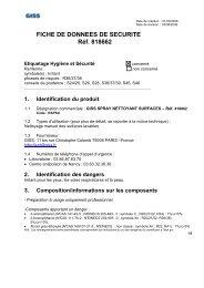 FDS 818662 - SPRAY NETTOYANT
