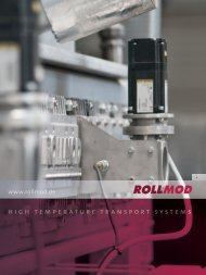 high temperature transport systems - ROLLMOD GmbH