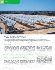 Around the Clock Solar Power - COMSOL.com